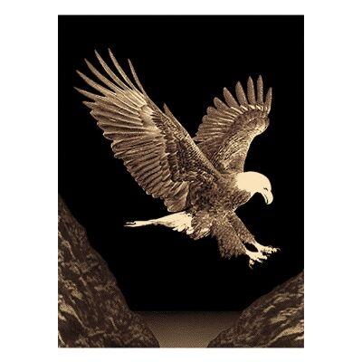 Legacy Eagle Modern Rug/Wall Art, 160x230cm