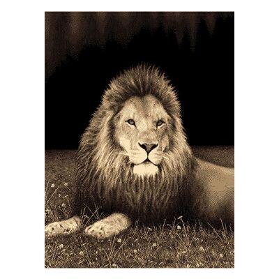 Legacy Lion Modern Rug/Wall Art, 120x170cm