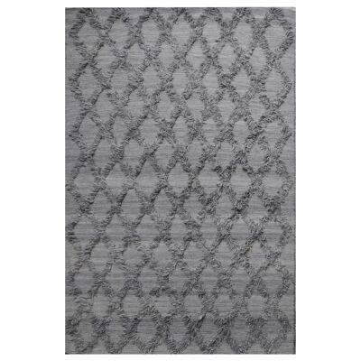 Jucar Wool Rug, 230x160cm, Dark Grey