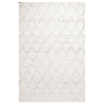 Jucar Wool Rug, 230x160cm, Ivory