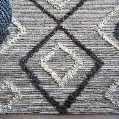 Alvy Hemp & Wool Rug, 290x190cm