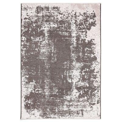 Rusty Vintage Abstract Reversible Rug, 200x290cm, Beige