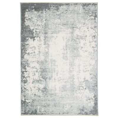 Rusty Vintage Abstract Reversible Rug, 120x170cm, Grey