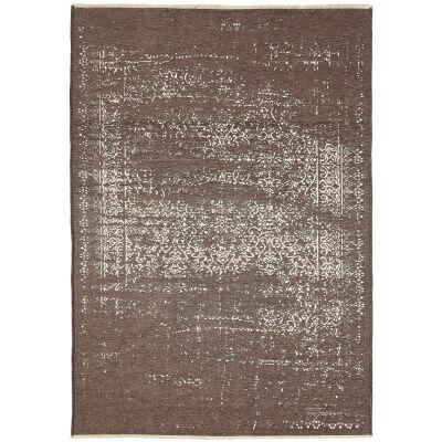 Rusty Vintage Distressed Reversible Rug, 120x170cm, Beige