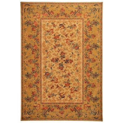 Royal Floral Wool Oriental Rug, 230x160cm