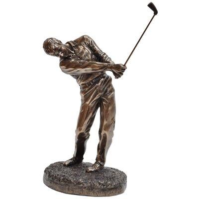 Golf Player Figurine, Follow Through
