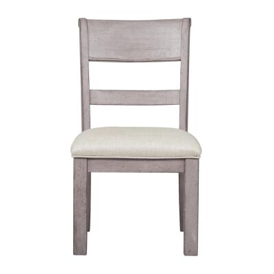 Prospect Hill Oak Timber Dining Chair with Fabric Seat