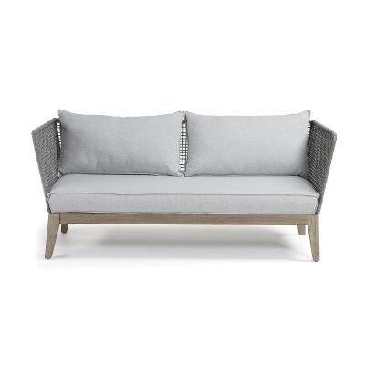 Melissia Rope & Acacia Timber 3 Seater Sofa
