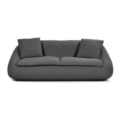 Parnell Fabric Sofa, 3 Seater, Dark Grey