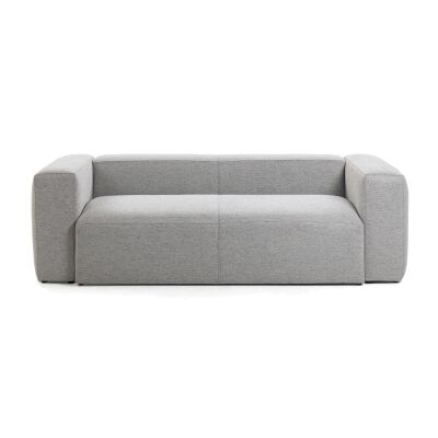 Lorton Fabric Sofa, 2 Seater, Light Grey