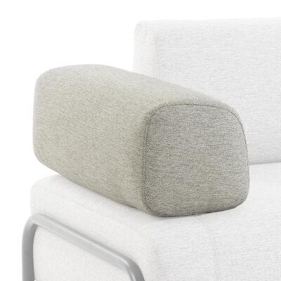 Meomo Fabric Module Sofa Armrest, Beige
