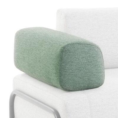 Meomo Fabric Module Sofa Armrest, Green