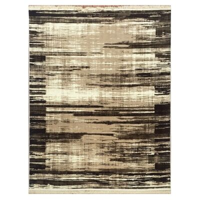 Apollo River Modern Rug, 240x330cm, Brown
