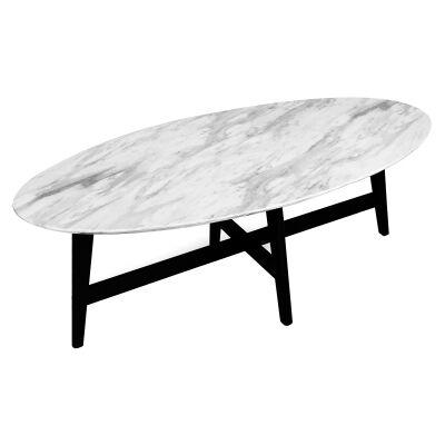 Saturn Oval Coffee Table, 120cm