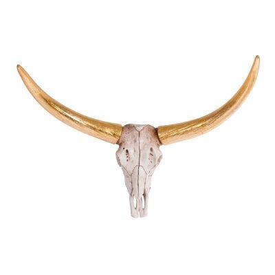 Zola Tribal Desert Cattle Skull Wall Decor