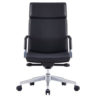 Select Premium Italian Leather Executive Office Chair, High Back