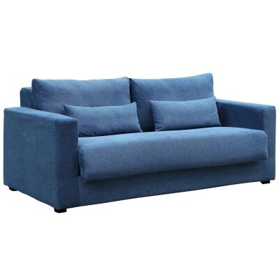 Carmel Fabric Pull Out Sofa Bed, 3 Seater