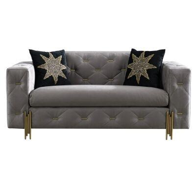 Dublino Fabric Sofa, 2 Seater