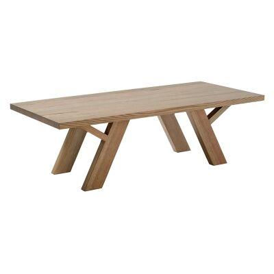 Lerida Victorian Ash Timber Coffee Table, 130cm