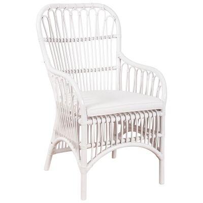 Darook Rattan Carver Chair