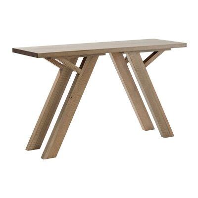 Lerida Victorian Ash Timber Hall Table, 130cm