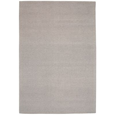 Shire Modern Wool Rug, 225x155cm, Oatmeal