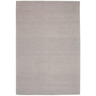 Shire Modern Wool Rug, 380x280cm, Oatmeal
