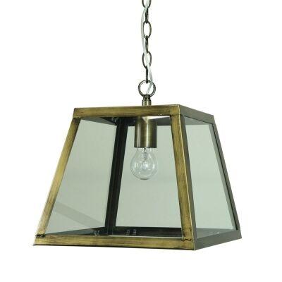 Philo Pendant Light - Antique Brass