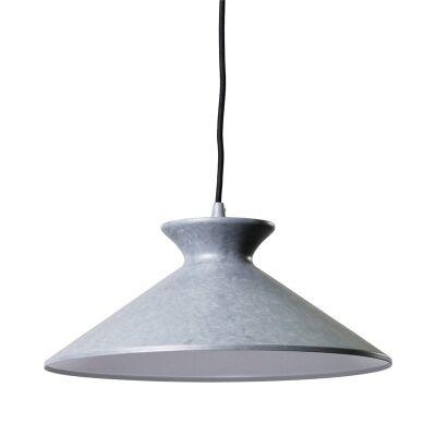 Bengta Metal Pendant Light - Cement