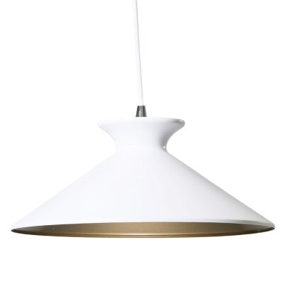Bengta Metal Pendant Light - White