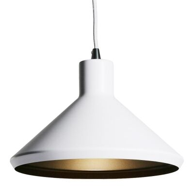 Bengt Metal Pendant Light - White