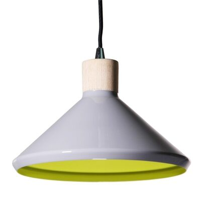 Bengt II Metal Pendant Light - Grey