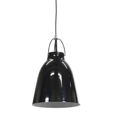 Cilla Steel Pendant Light - Black