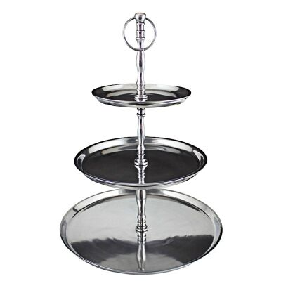 Lordes Aluminum 3 Tier Cake Stand