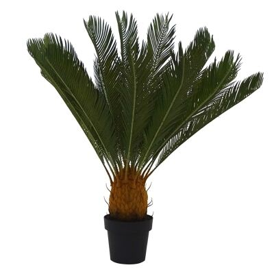 Set of 2 Artificial Cycad in Pot - Large