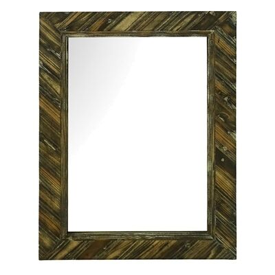 Napier Distressed Timber Frame Wall Mirror