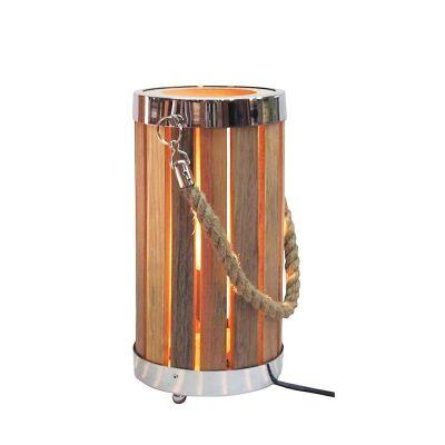 Bronte Timber Slate Bedside Table Lamp