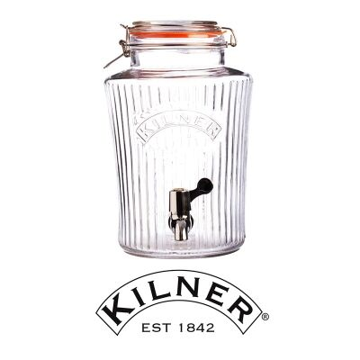 Kilner Clip Top Vintage Drinks Dispenser - 5 Litre