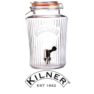 Kilner Clip Top Vintage Drinks Dispenser - 8 Litre