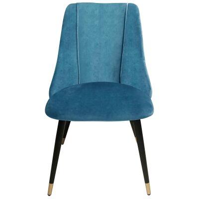 Sofia Velvet Fabric Dining Chair