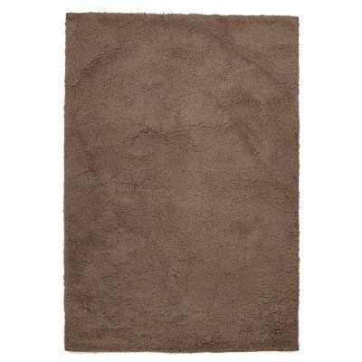 Soho Texture Hand Tufted Shag Rug, 165x115cm, Beige