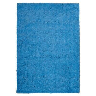 Soho Texture Hand Tufted Shag Rug, 165x115cm, Blue