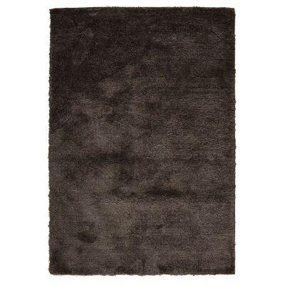 Soho Texture Hand Tufted Shag Rug, 165x115cm, Mink