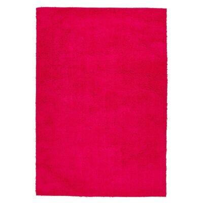 Soho Texture Hand Tufted Shag Rug, 220x150cm, Pink