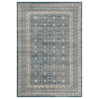 Breeze Orb Oriental Rug, 200x290cm, Blue