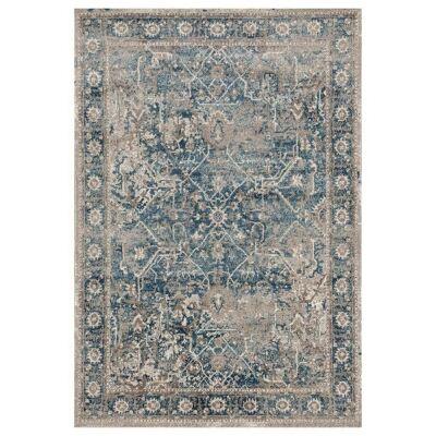 Breeze Whisper Oriental Rug, 200x290cm, Blue
