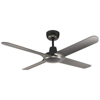 "Ventair Spyda Commercial Grade Indoor / Outdoor 4 Blade Ceiling Fan, 140cm/56"", Titanium"