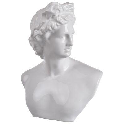 Julian Ceramic Bust Statue