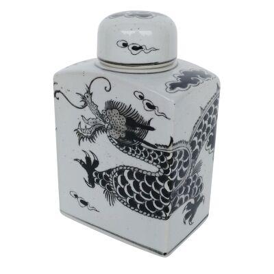 Dorete PorcelainTemple Jar, Small