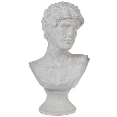 Wystan Ceramic Bust Figurine, Large